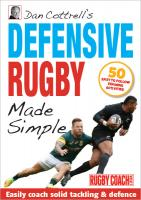 DEFENSIVE RUGBY MADE SIMPLE